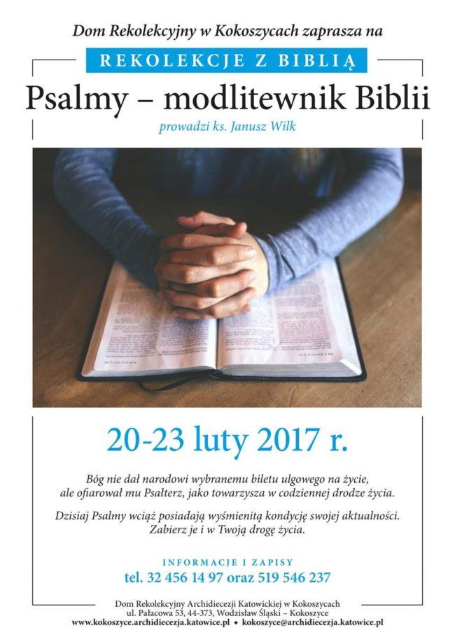 Plakat Rekolekcje z Biblia A4-1
