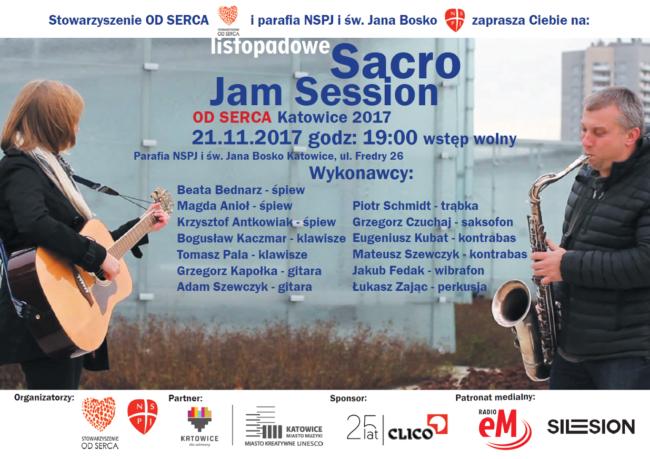 Plakat Sacro Jamm 4 2017